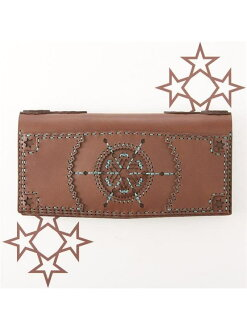 ojaga design previous orders * CHOCOLATE COLLECTION CRATER long wallet of Jaga design