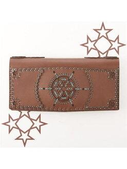 ojaga design previous orders * CHOCOLATE COLLECTION CRATER long wallet of Jaga design
