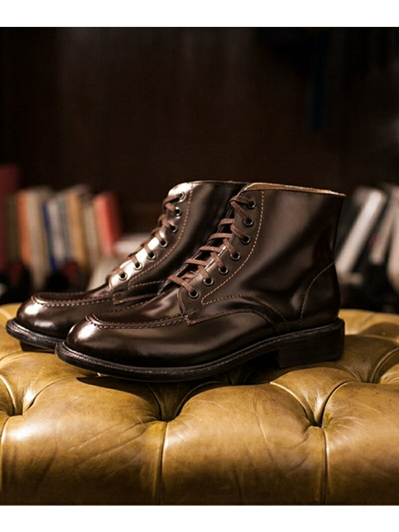 【40%OFF】【送料無料】CAMINANDO U-Tip LaceUp Work Boots ナノユニバース シューズ【RBA_S】【RBA_E】