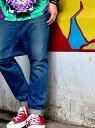 ROYAL FLASH ISAMUKATAYAMA BACKLASH/イサムカタヤマ バックラッシュ/SARROUEL SKINNY DENIM ロイヤルフラッシュ パンツ/ジーンズ フルレングス ブルー【送料無料】