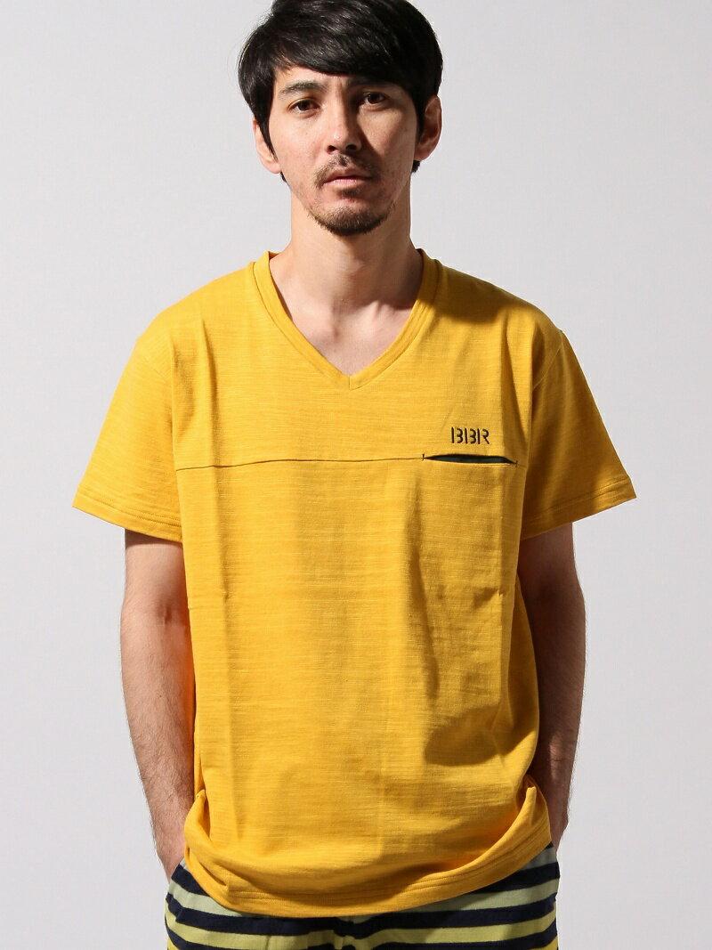 【送料無料】BomBR VネックポケットTシャツ アスレタ