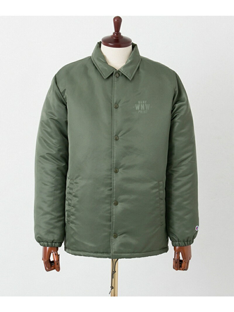 URBAN RESEARCH Champion×WORK NOT WORK NYLON TWILL COACH JACKET アーバンリサーチ【送料無料】