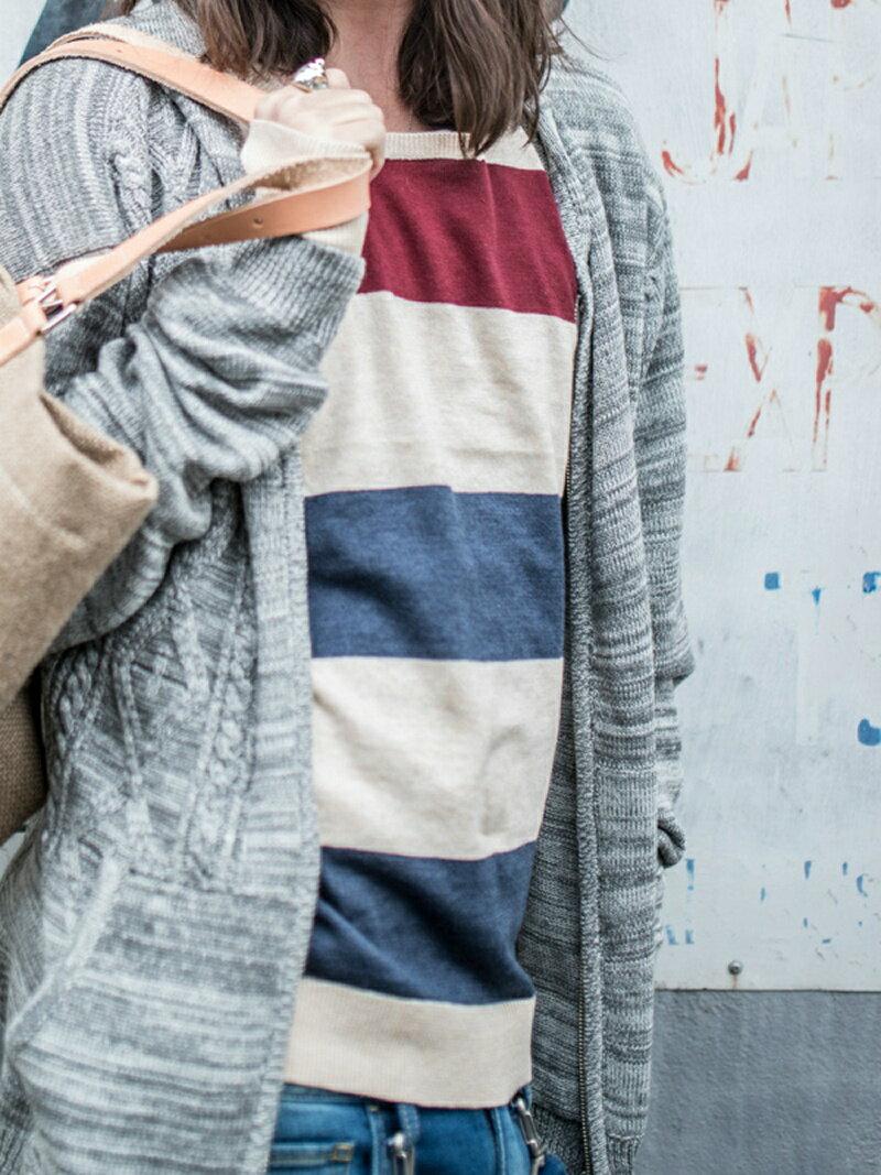 【10%OFF】【送料無料】glamb [先行受注] *Lana border knit グラム ニット【RBA_S】【RBA_E】