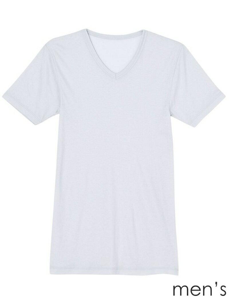 【SALE/40%OFF】une nana cool 吸湿発熱 無地 半袖シャツ ウンナナクール インナー/ナイトウェア【RBA_S】【RBA_E】
