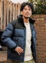 【SALE/30%OFF】BAYFLOW (M)*ALIED/STAND ベイフロー コート/ジャケット ダウンジャケット ネイビー ブラック ベージュ イエロー【RBA_E】【送料無料】