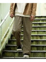 Sonny Label ワイドテーパードイージーパンツ サニーレーベル パンツ/ジーンズ パンツその他 ネイビー ブラウン ブラック【送料無料】