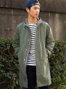 UNITED ARROWS green label relaxing SC 3WAY PE/NY/WTHER モッズコート <取り外し可能ライナー付き> ユナイ...