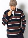 B:MING by BEAMS BARBARIAN × ビーミング by ビームス / 別注 マルチボーダー ラガーシャツ BEAMS ビームス バーバリアン ビーミング ライフストア バイ ビームス【送料無料】