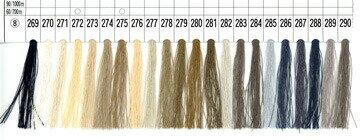 ★ボビン巻きの便利な手縫い糸!フジックスシャッペスパン手縫い糸(50番手)