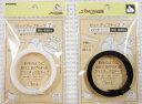 針金のように自在に曲げられる縫いつけができるプラスチック芯テープ≪セットアップテープ≫【ハードタイプ7mm巾】