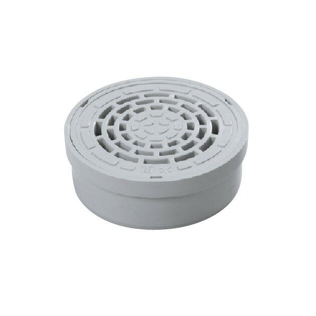塩ビVUパイプ内径接続ワンタッチ開閉式格子ふた ICA-H ライト150雨水 アロン化成