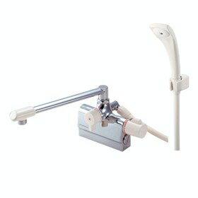 バス水栓金具 サーモデッキシャワー混合栓 SK78D-13 「E-MIX」 三栄水栓【送料無料】 02P01Mar1 飽きのこないオーソドックスなデザイン
