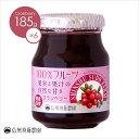 【ケース販売】低糖度 信州須藤農園 100%フルーツクランベリー185g 1ケース(6個入り)