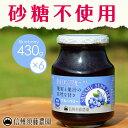 送料無料 【ケース販売】 ブルーベリー430g 1ケース(6個入り) 【砂糖不使用】低糖度 信州須藤農園 100%フルーツ※北海道・九州・沖縄地域は追加送料有り