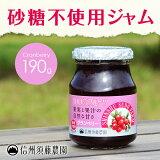 【モニター価格】 【砂糖不使用】低糖度ジャム 信州須藤農園 100%フルーツ クランベリージャム190g