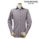 トムブラウン THOM BROWNE NEW YORK シャツ チェックシャツ メンズ あす楽