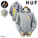 HUF ハフ スウェット パーカー 2カラー TWO TONED CLASSIC H PULLOVER HOODIE メンズ [N30]