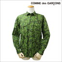 COMME des GARCONS BLACK コムデギャルソン シャツ 長袖 カモ メンズ