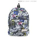 MARC BY MARC JACOBS マークバイマークジェイコブス バッグ リュック レディース バックパック M0006405 CARTOON BACKPACK ホワイト 【決...