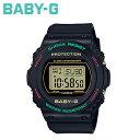 CASIO カシオ BABY-G 腕時計 BGD-570TH-1JF THROWBACK 1990S ベビージー ベビーG G-ショック レディース ブラック 黒