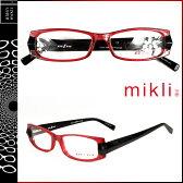 ミクリ mikli アランミクリ メガネ 眼鏡 レッド ブラック M0735 col 03 セルフレーム サングラス メンズ レディース あす楽 [★20]