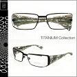 アランミクリ チタン alain mikli TITAN メガネ 眼鏡 ブラック シルバー AL0520 0024 メタルフレーム サングラス メンズ レディース