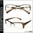 アランミクリ alain mikli メガネ 眼鏡 ブラウン A0635-13 スクウェア セルフレーム サングラス メンズ レディース