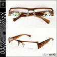 アランミクリ alain mikli メガネ 眼鏡 ブラウン A0778-13 スクウェア セルフレーム サングラス メンズ レディース