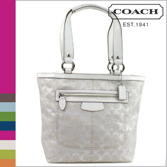 Coach COACH tote bag metallic multi Penelope signature lunch ladies