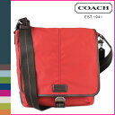 Coach COACH F70665 men shoulder bag [Percy mon] ヴァリックナイロンマップバッグ regular outlet USA FACTORY mail order new article [Father's Day]