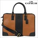COACH コーチ メンズ バッグ ビジネスバッグ ブリーフケース F71639 サドル×ブラック あす楽 [9/6 再入荷]