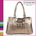 Free shipping coach COACH tote bag [F18751] bronze Soho leather E W lady's regular outlet [I will take my ease tomorrow]