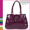 "Free shipping all coach COACH tote bag [F19711] plum Soho patent carry lady's regular outlets; ""5/11 reentry load] ●"" [Father's Day]"