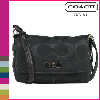 Coach, COACH shoulder bags black women's Chelsea signature flap