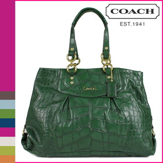 Coach COACH Tote forest Ashley embossed Croc carryall ladies