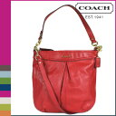 [6/8 reentry load] tomorrow comfortable a free shipping coach COACH shoulder bag 2Way [F20114] cherry Ashley leather hippie lady's regular outlet