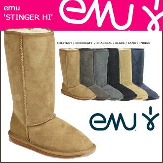 EMU EMU Stinger Hi Sheepskin Womens mens boots STINGER HI Sheepskin boots W10001