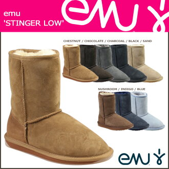 «Reservation products» «9 / 30 when I will be in stock» EMU EMU Stinger Lo Sheepskin boots W10002 STINGER LO Sheepskin Womens mens boots