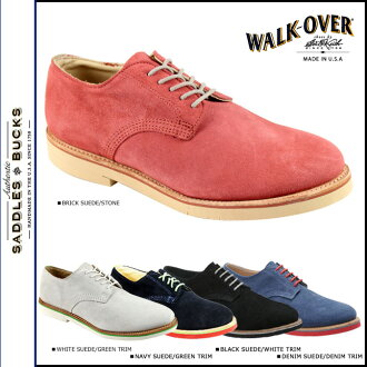 Walk-over WALK OVER plain shoes WM6010 R30580 R30503 WM4010 R30504 DERBY MIDI メンズスウェード men women