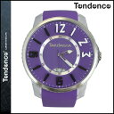 テンデンス TENDENCE 腕時計 SLIM POP スリムポップ 47mm TG131002 ウォッチ 時計 パープル PURPLE 3H メンズ レディース [ あす楽対象外 ]