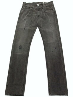 ROGAN (Logan) [vintage machining on CLASSIC FIT denim black Logan classic denim BLACK