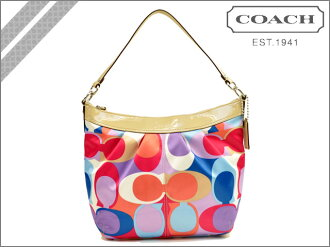 Coach COACH SOHO scarf convertible shoulder multicolor SOHO PLEATED SCARF CONVERTIBLE SHOULDER BAG MULTI COLOR