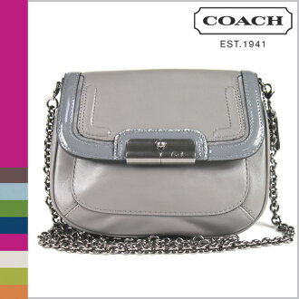 Christine spectator leather Crossbody, coach F46004 COACH shoulder bag