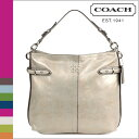●【 Father's Day 】 tomorrow comfortable coach COACH shoulder bag [F16422] グレーコレットエレベーテッドレザーホーボーレディース regular outlet / free shipping /