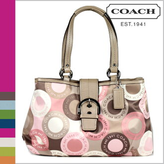 Coach COACH Tote multicolor Ashley snap head E W Womens