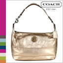 ●【 Father's Day 】 tomorrow comfortable coach COACH shoulder bag [F18882] antique gold signature stitch metallic Ho baud lady's regular outlet / free shipping /