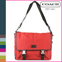 Coach COACH F70680 men shoulder bag [Percy mon] ヴァリックナイロンメッセンジャーバッグ regular outlet USA FACTORY mail order new article [Father's Day]