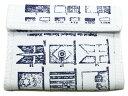10,000円以上のお買い上げで全国送料無料!!RALPH LAUREN RUGBY パスケース付 フラッグ キャンバス 財布 白ラルフローレン/ラグビー/マジック/テープ/ウォレット/アメカジ[sugarltd]