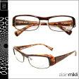 アランミクリ alain mikli メガネ 眼鏡 A0661 11 ブラウン セルフレーム メガネ サングラス メンズ レディース