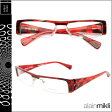 アランミクリ alain mikli メガネ 眼鏡 A0341 44 ダークレッド セルフレーム メガネ サングラス メンズ レディース あす楽 [★20]